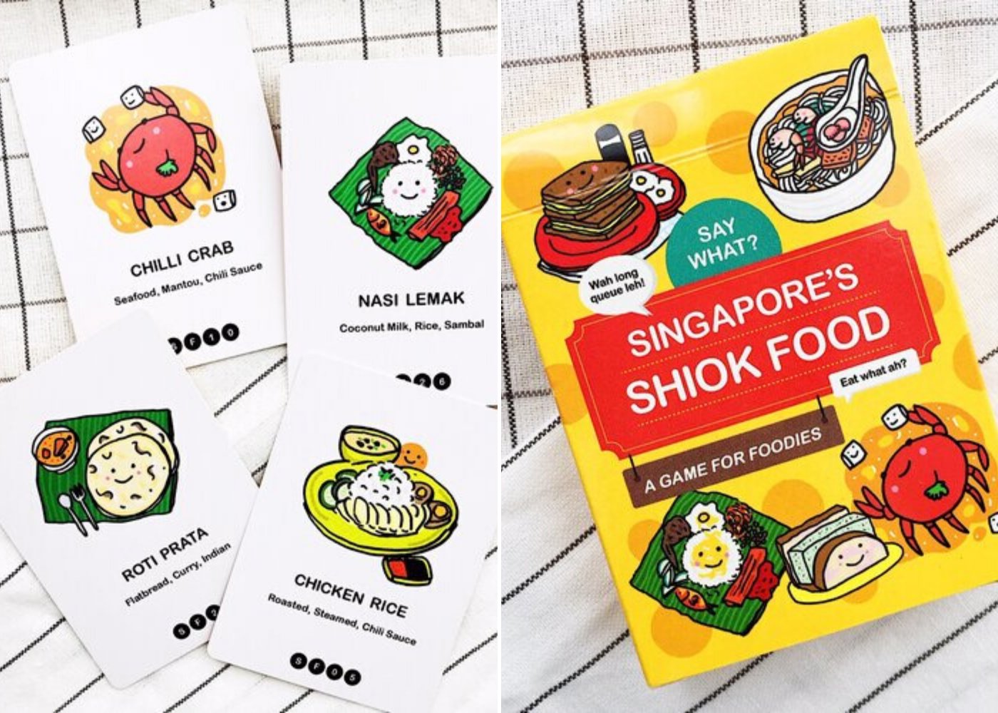 Say What? Singapore's Shiok Food Card Game | alternative card games