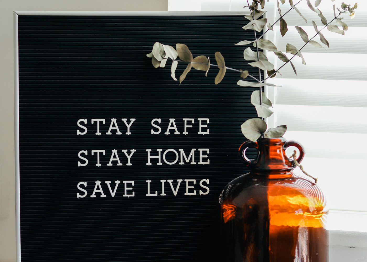 stay safe sign | circuit breaker end