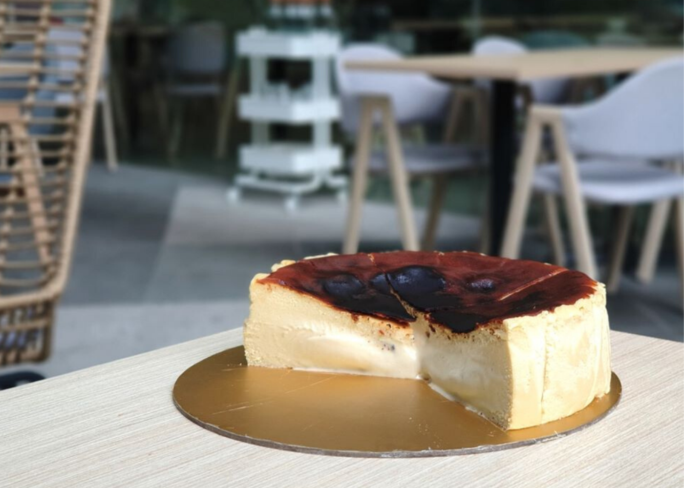 The hunt is on for the best burnt cheesecake in Singapore