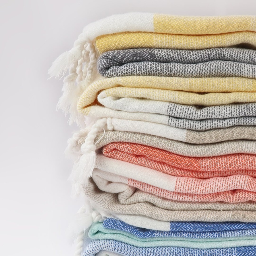 Turquoise Beach Co's Turkish towels