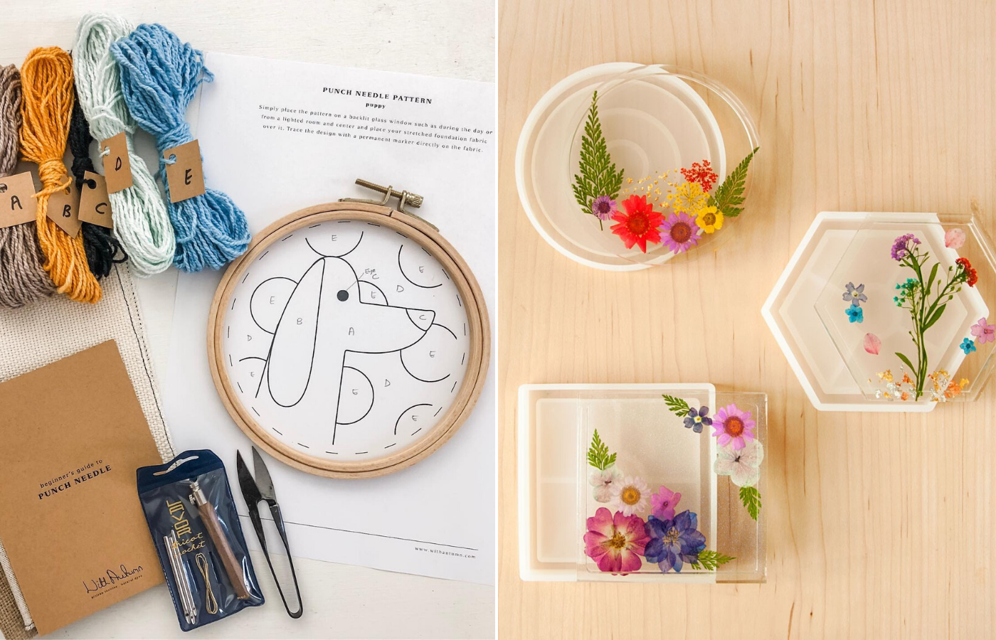 Get creative with DIY craft kits for fun times at home