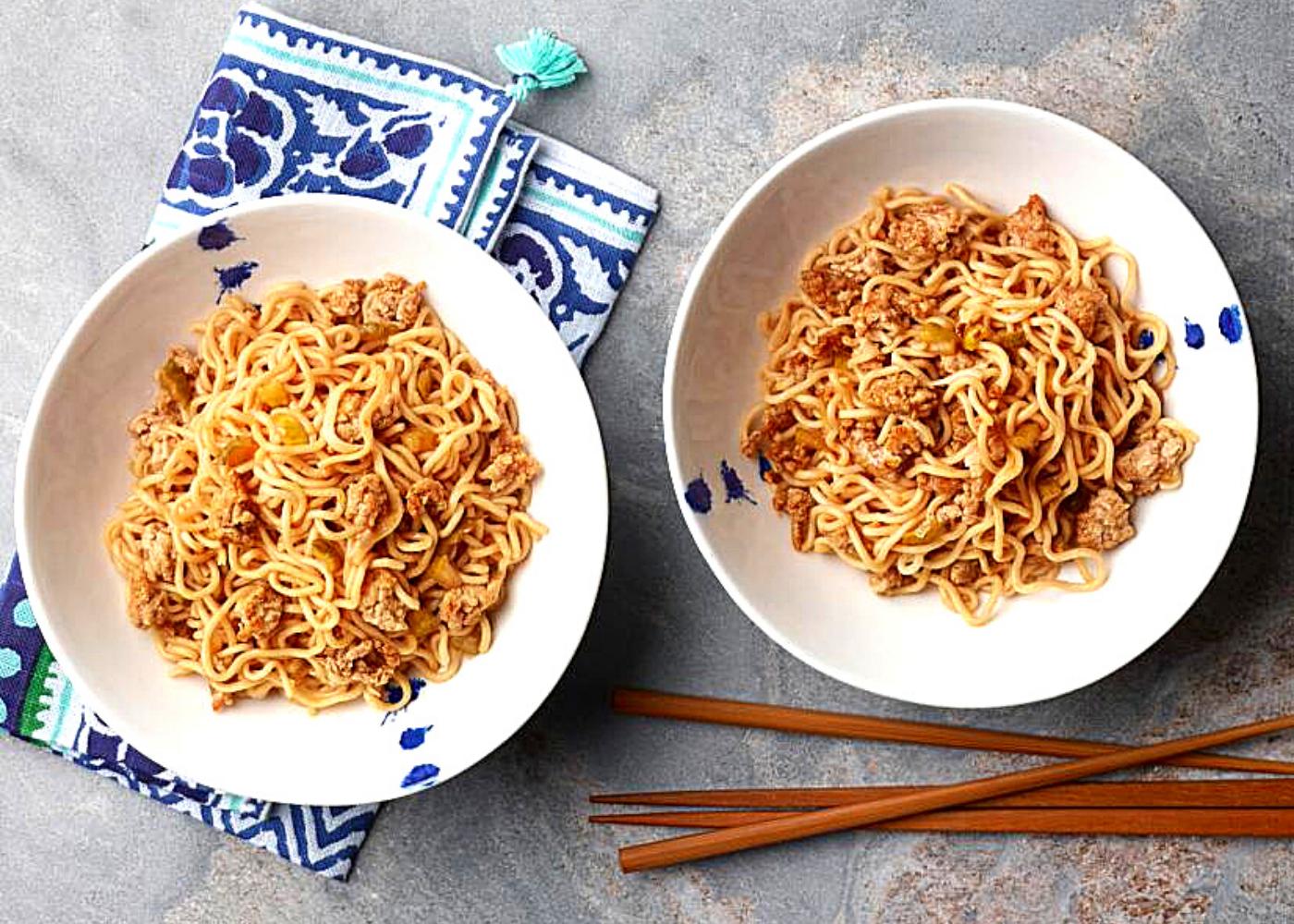 Best upgraded instant noodle recipes: Dan Dan noodles