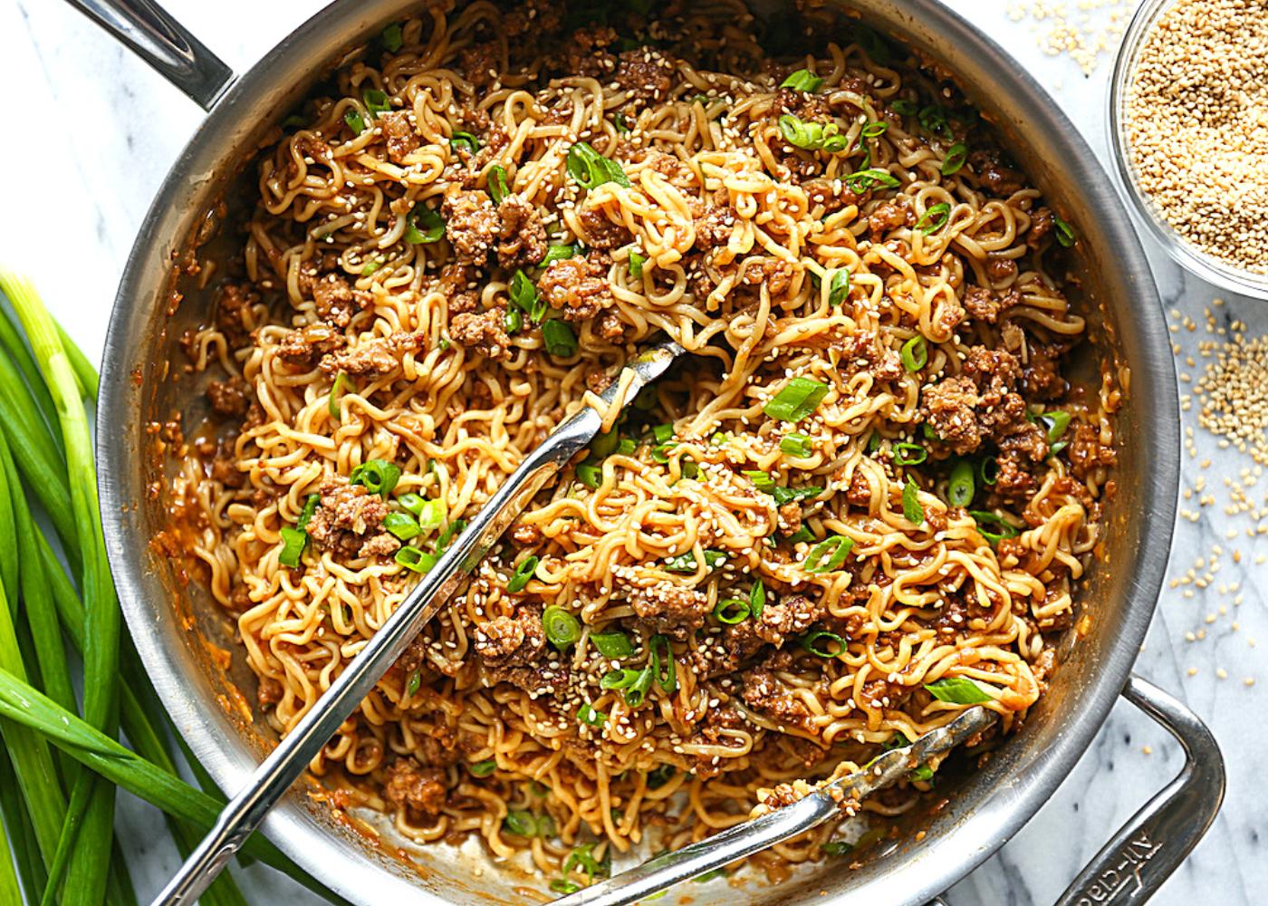 Best upgraded instant noodle recipes: Stir fried ramen