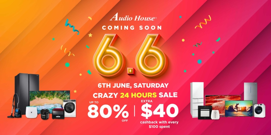 Audio House 6.6: 24-hour Storewide Sale