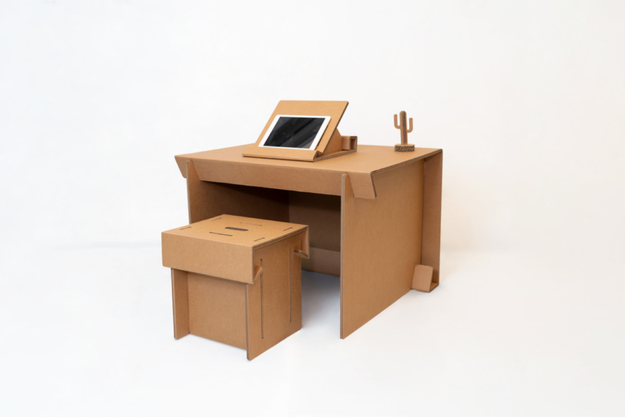 #HBLTable: Adjustable cardboard table