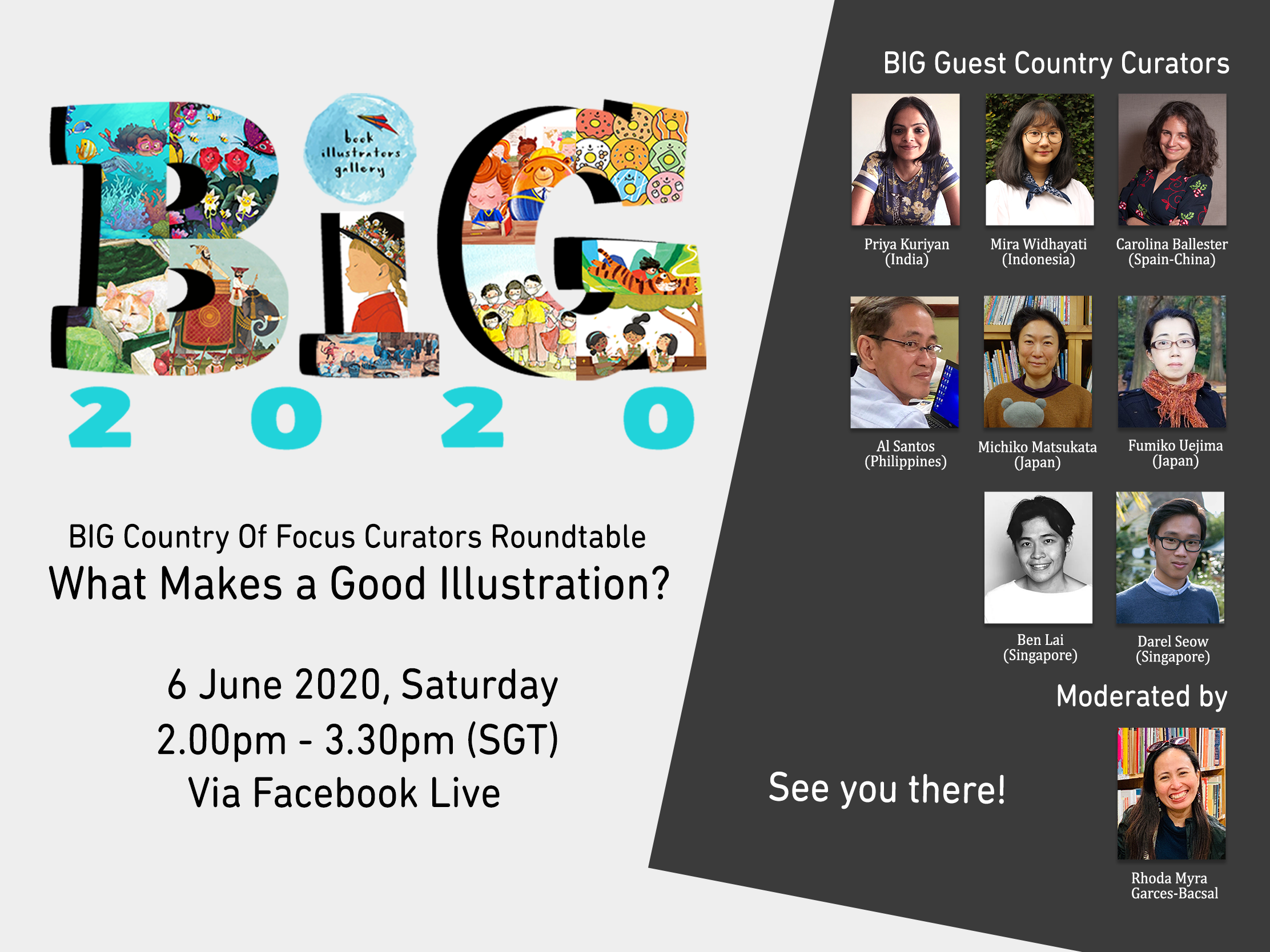 BIG Country of Focus Roundtable: What Makes a Good Illustration?