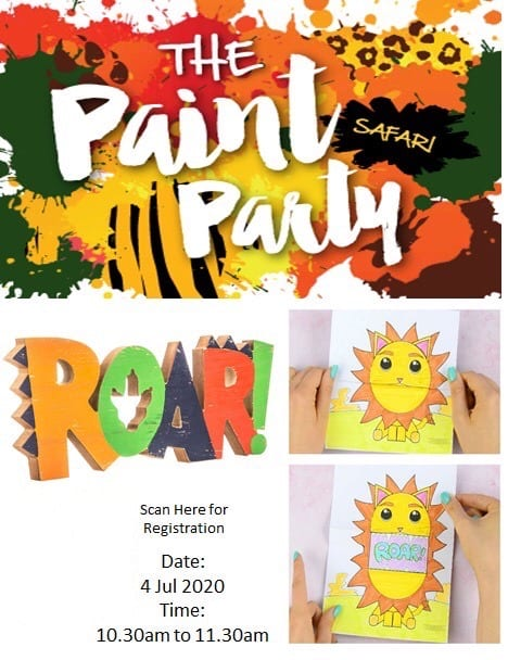 The Art Party – Safari Roar!