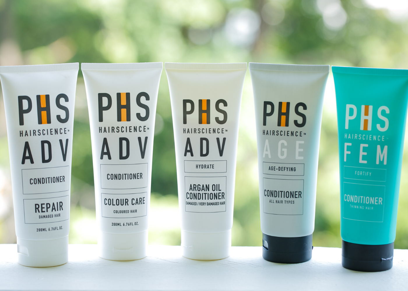 Phs hairscience conditioner 3-step daily hair care routine