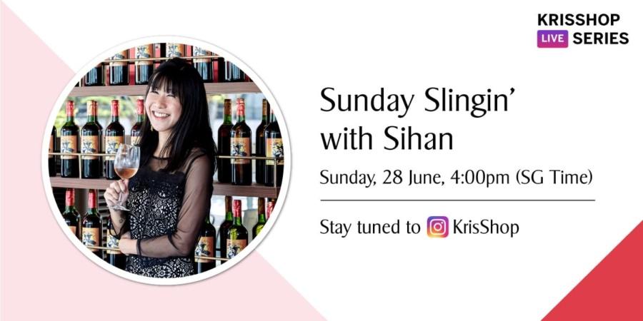 KrisShop Live Series: Sunday Slingin' with Sihan