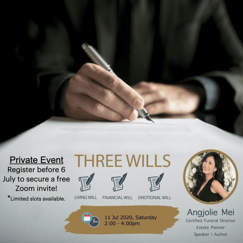 Three Wills – Living | Financial | Emotional