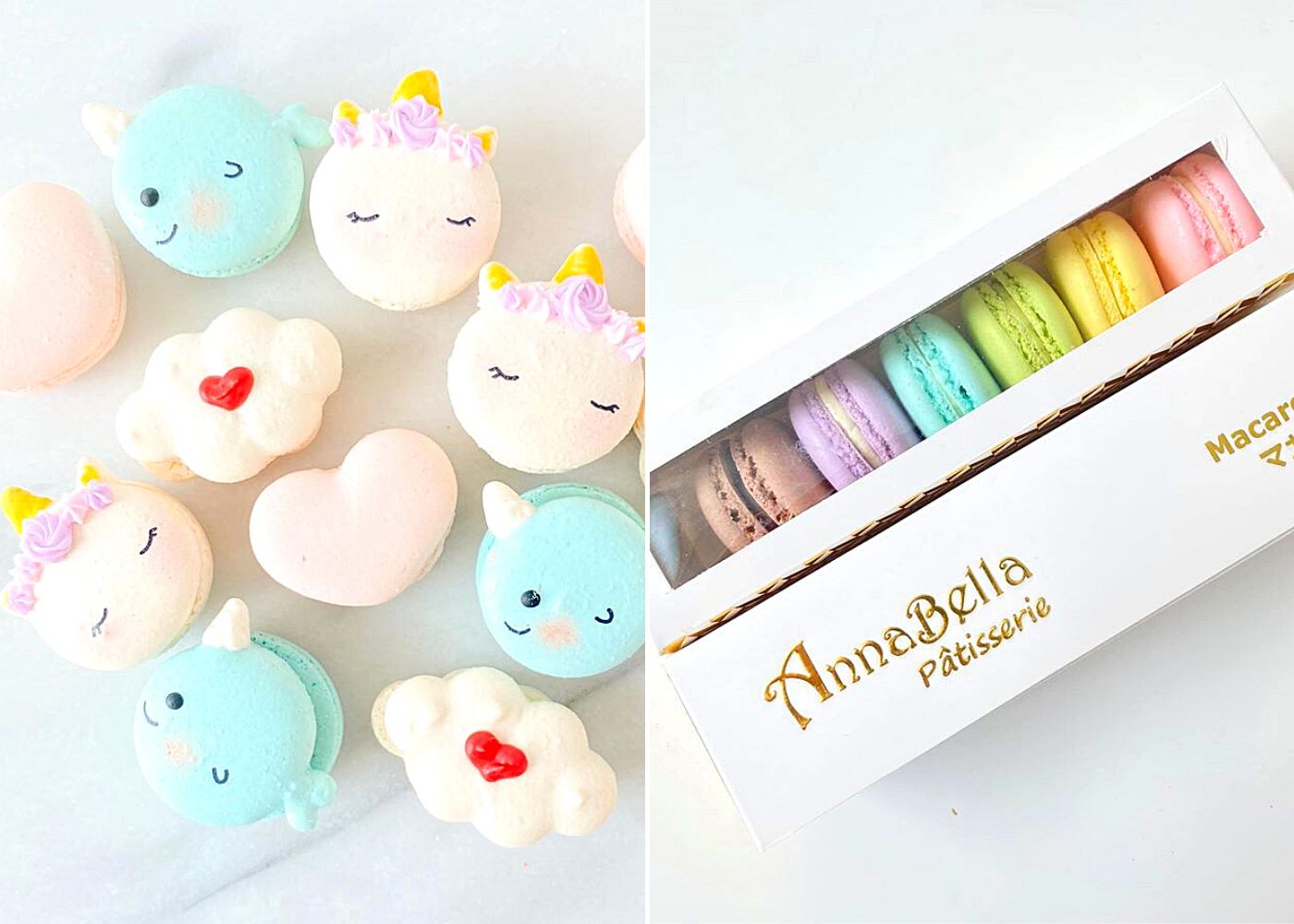 No need to hunt for macaron recipes when you can get the best macarons in Singapore delivered to you: AnnaBella Patisserie