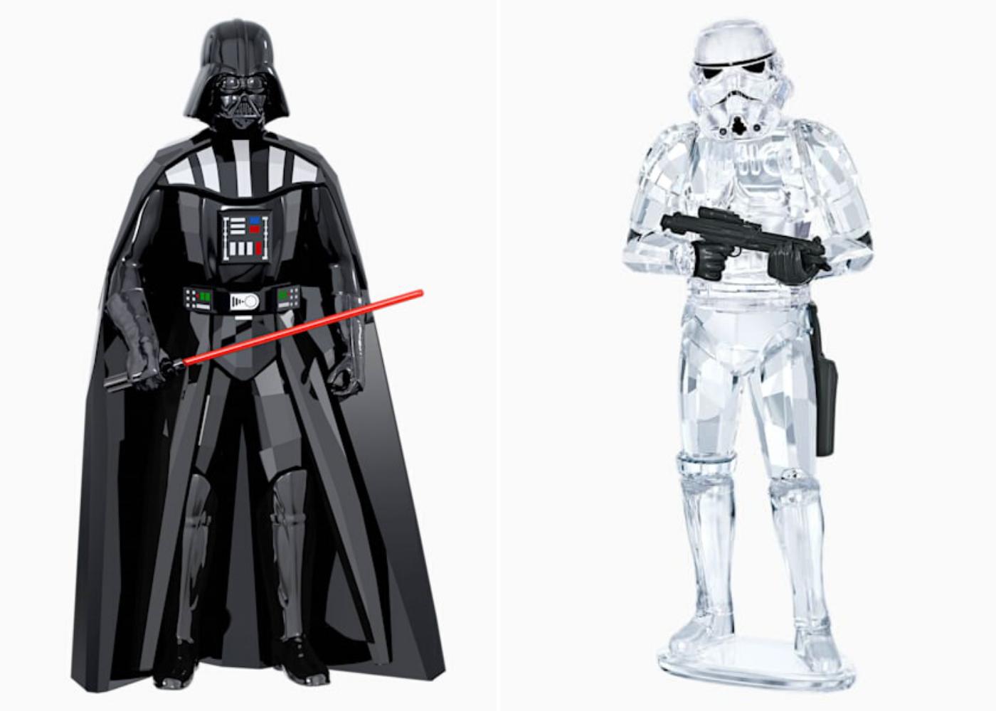 Swarovski Star Wars collectibles