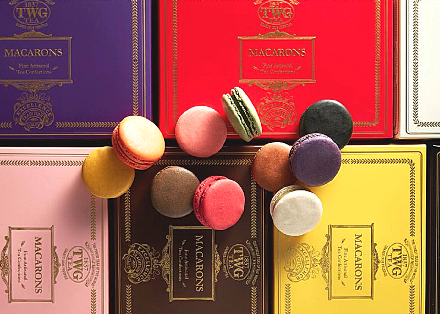 No need to hunt for macaron recipes when you can get the best macarons in Singapore delivered to you: TWG Tea