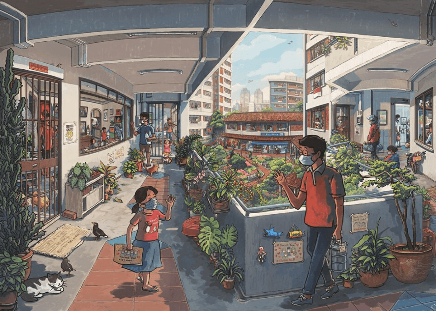Brilliant illustrators from Singapore whose art you'll want on your wall