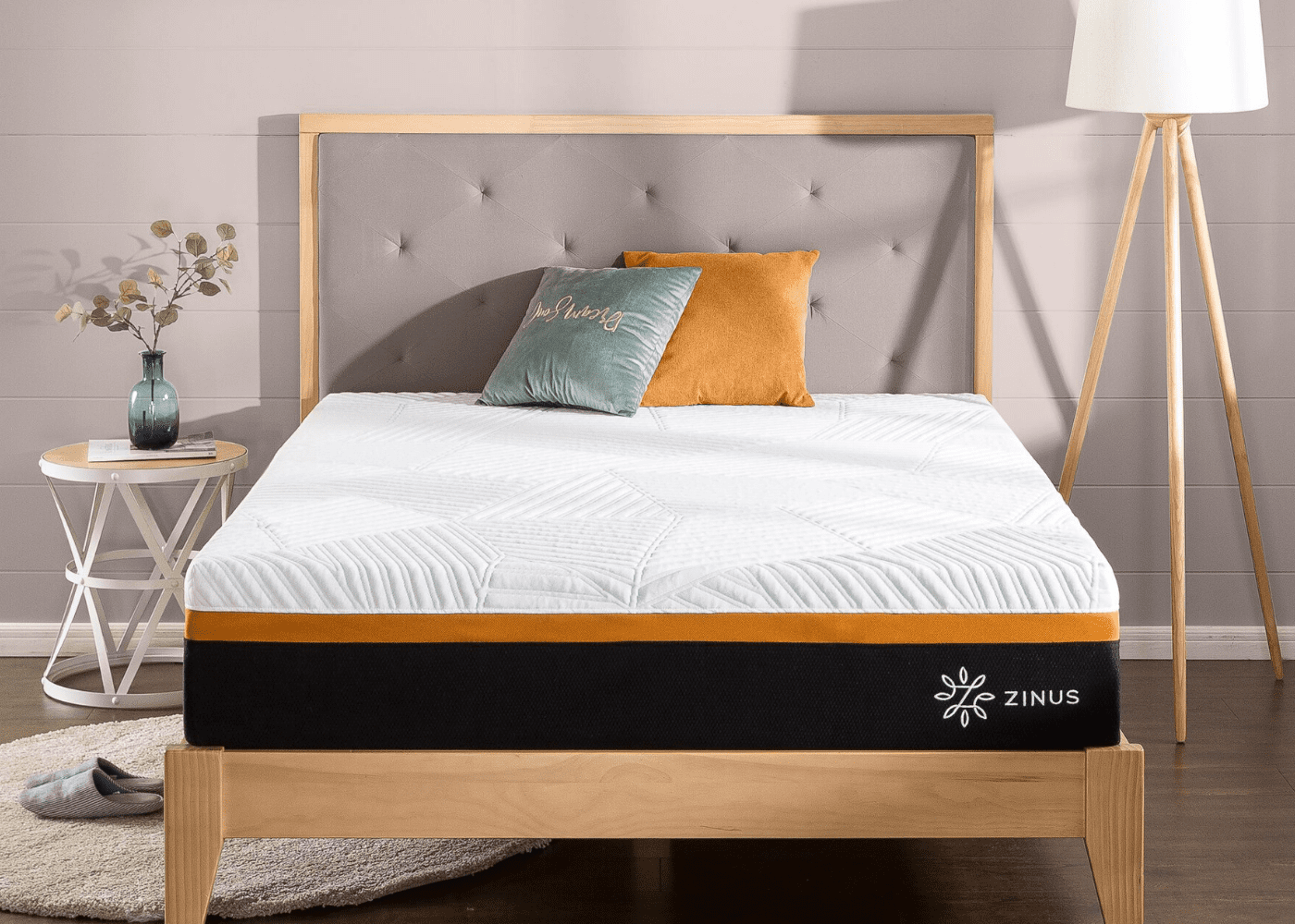 High-end quality, wallet-friendly prices: Zinus brings premium mattresses in a box to our shores