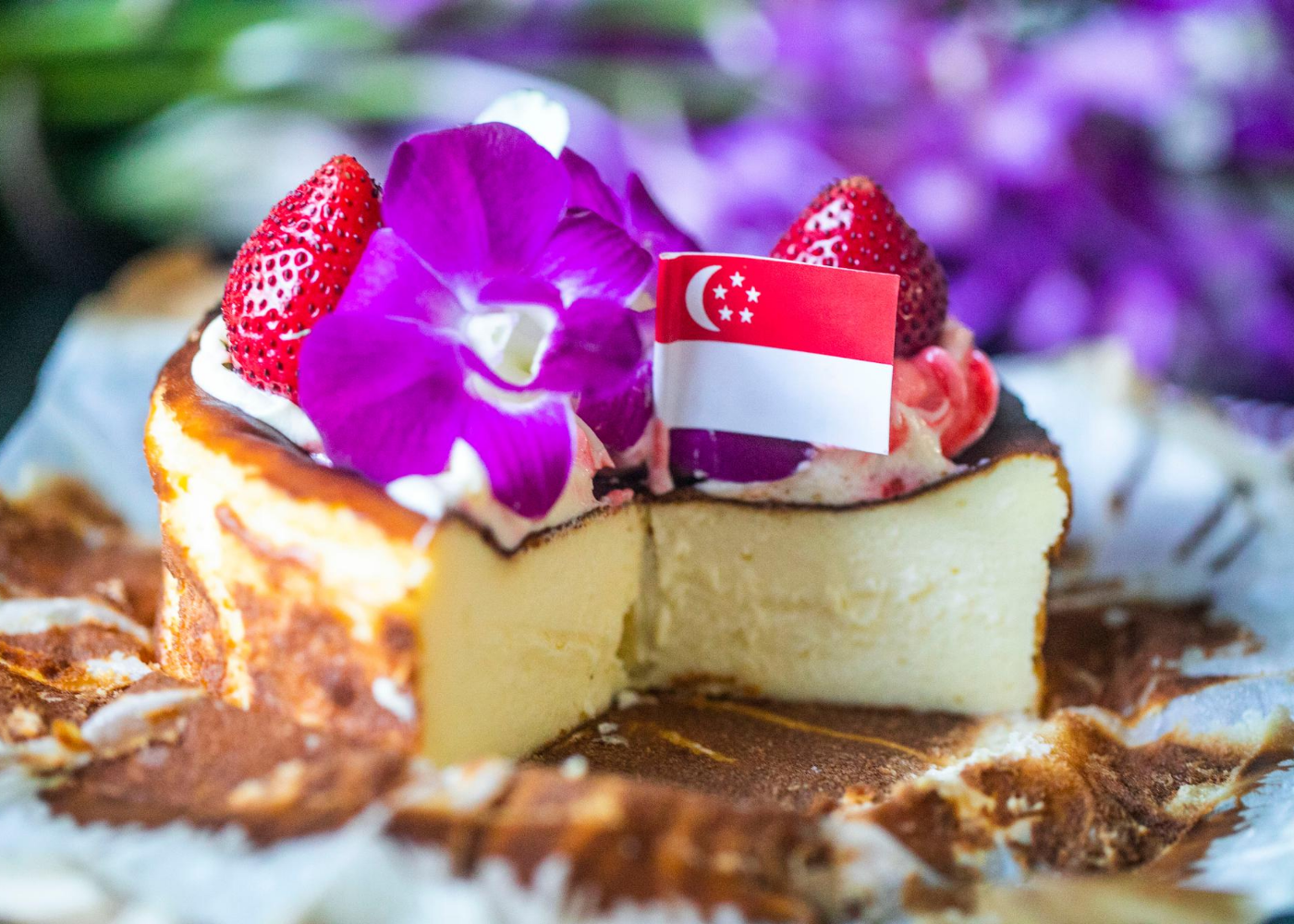We're giving away 10 burnt cheesecakes for National Day! Here's how to win