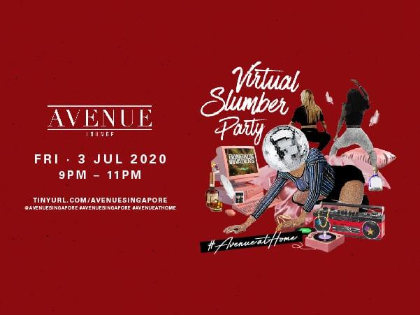 #AvenueAtHome: Virtual Slumber Party