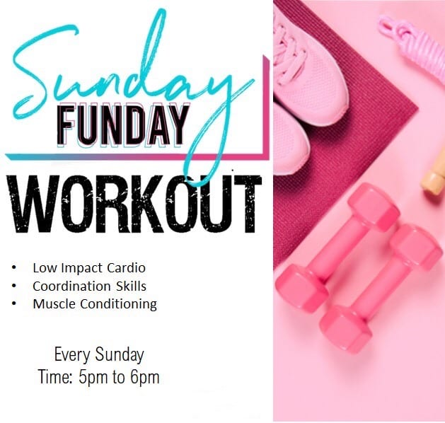 Sunday Funday Workout: Fun Workout Together