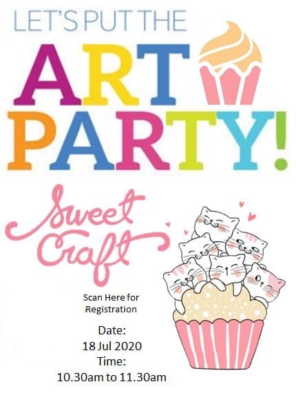 The Art Party: Sweet Cafe Craft!