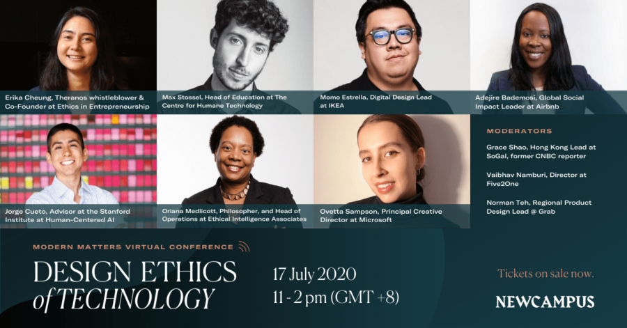 Design Ethics of Technology (Modern Matters Virtual Conference by NewCampus)