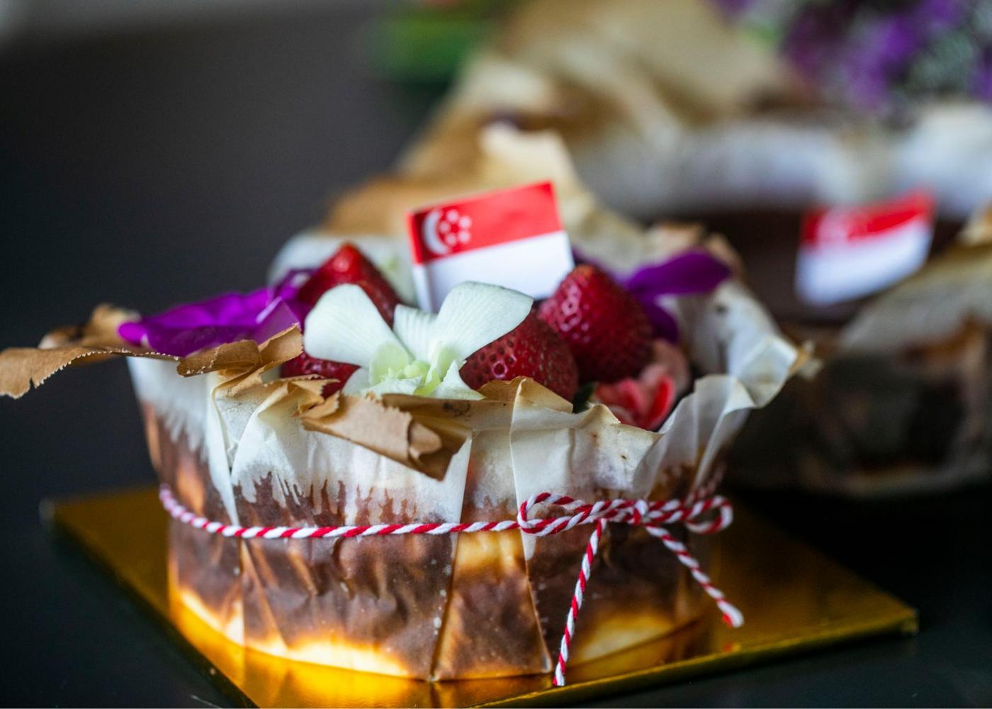 amrita's burnt cheesecake giveaway
