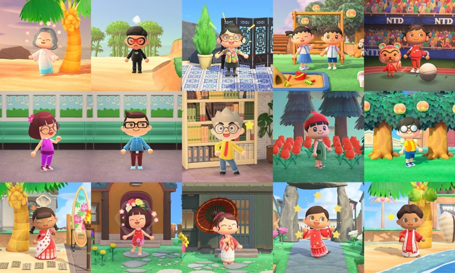 Celebrate National Day on Animal Crossing