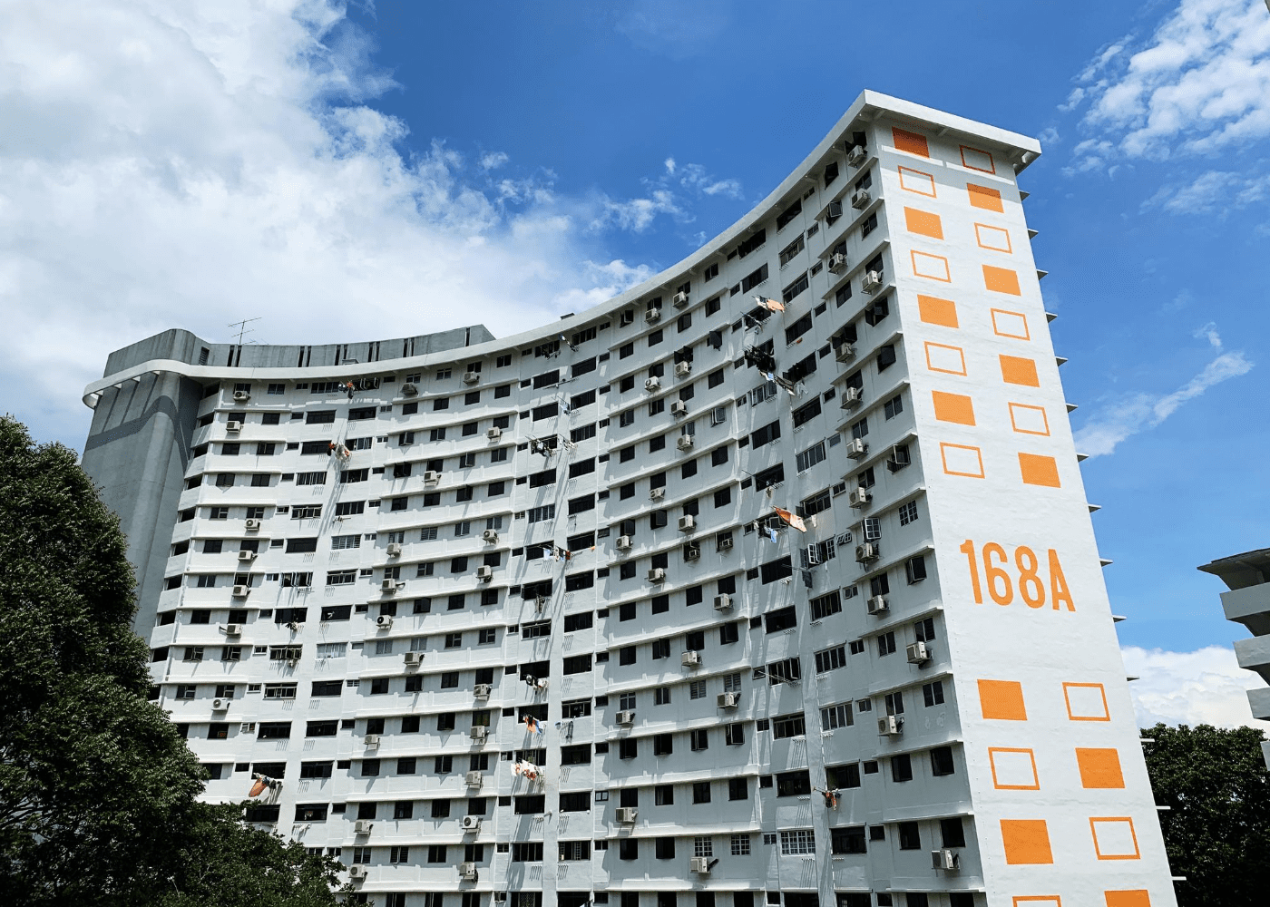 Blk 168A Stirling Road | HDB blocks in Singapore with unique designs