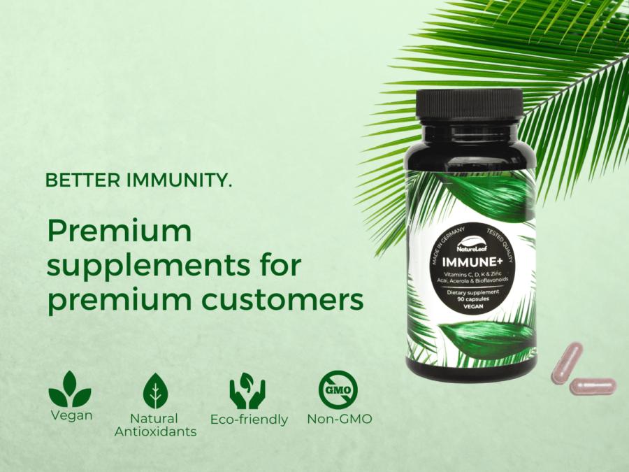 Immune+ Nature Leaf