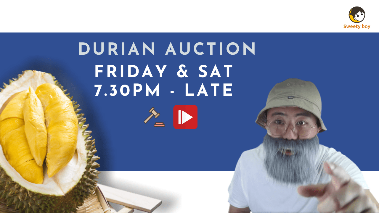 Durian Auction: Lucky Draw & Daily Spin