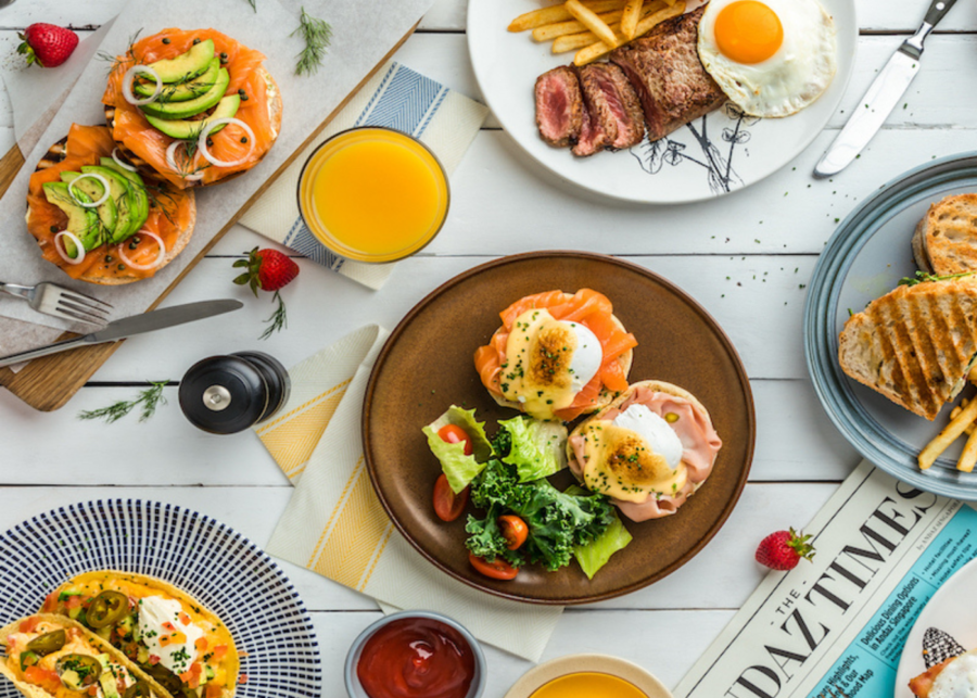Lazy Breakfast at Andaz Singapore