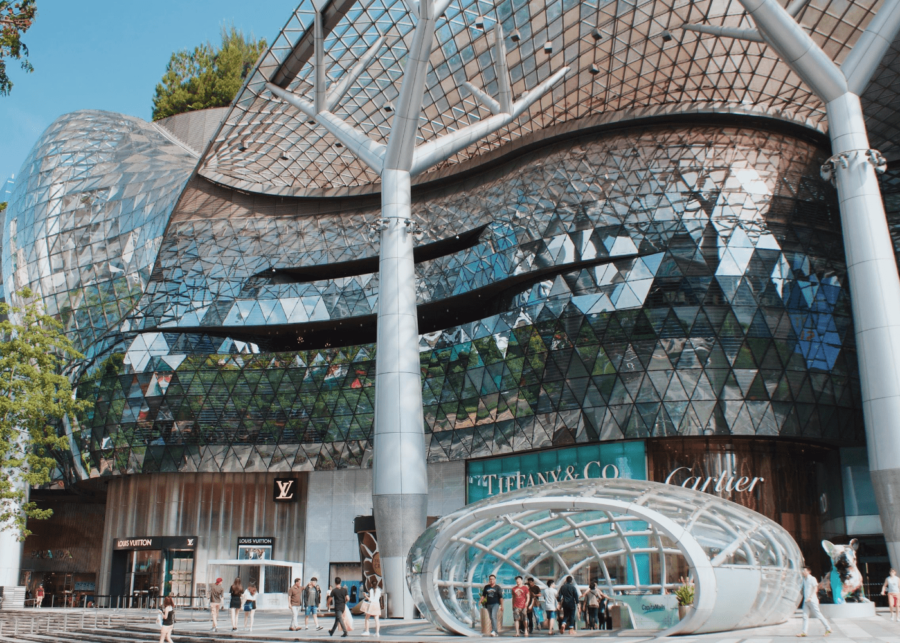 credit card for shopping | ion orchard
