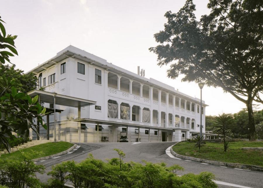 gillman barracks   queenstown singapore