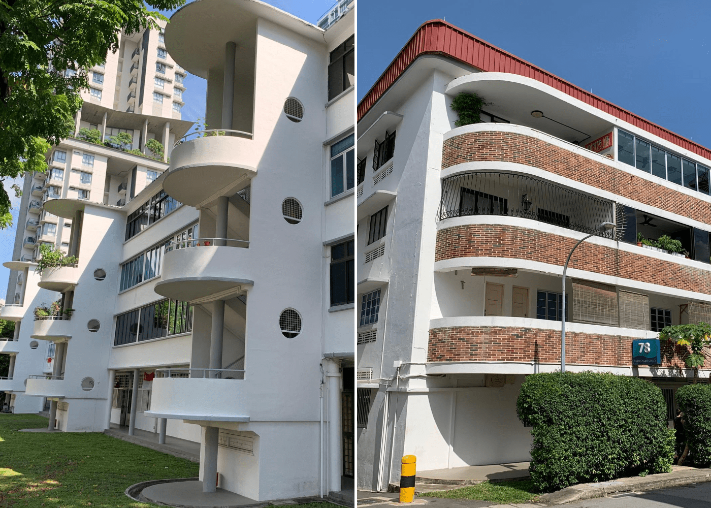 Tiong Bahru | HDB blocks in Singapore with unique designs