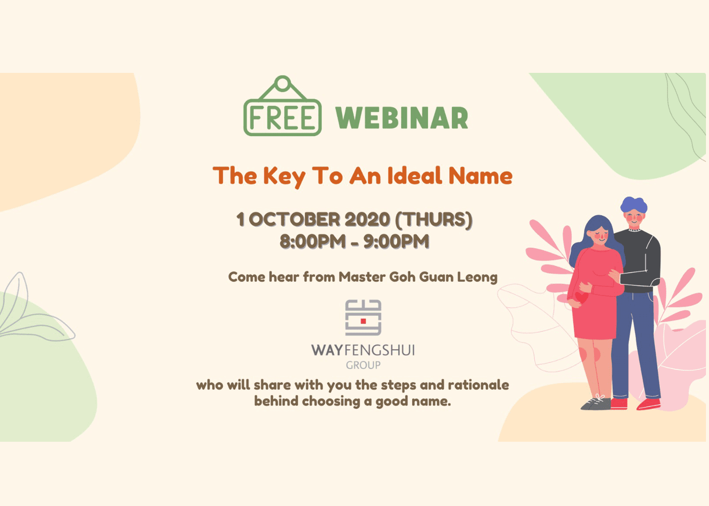 [Free Event] The Key To An Ideal Name