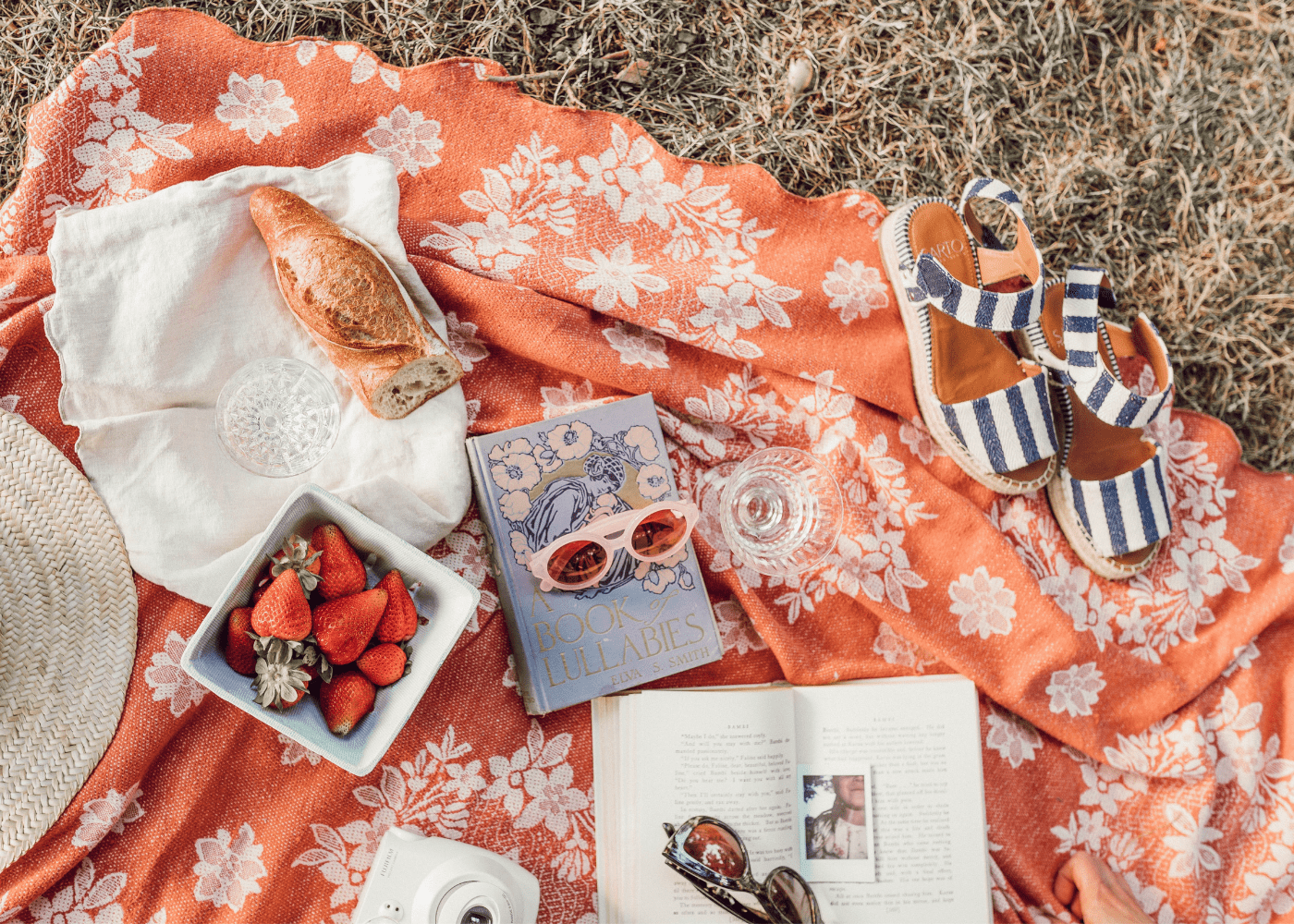 Everything you need for the perfect picnic: Food, booze, breezy locations and beyond!
