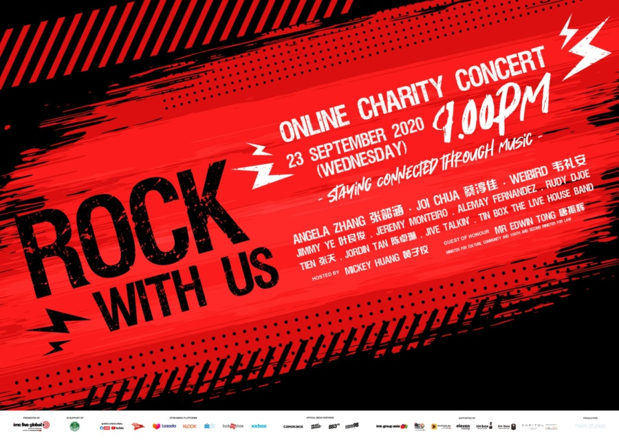 Rock With Us: Online Charity Concert