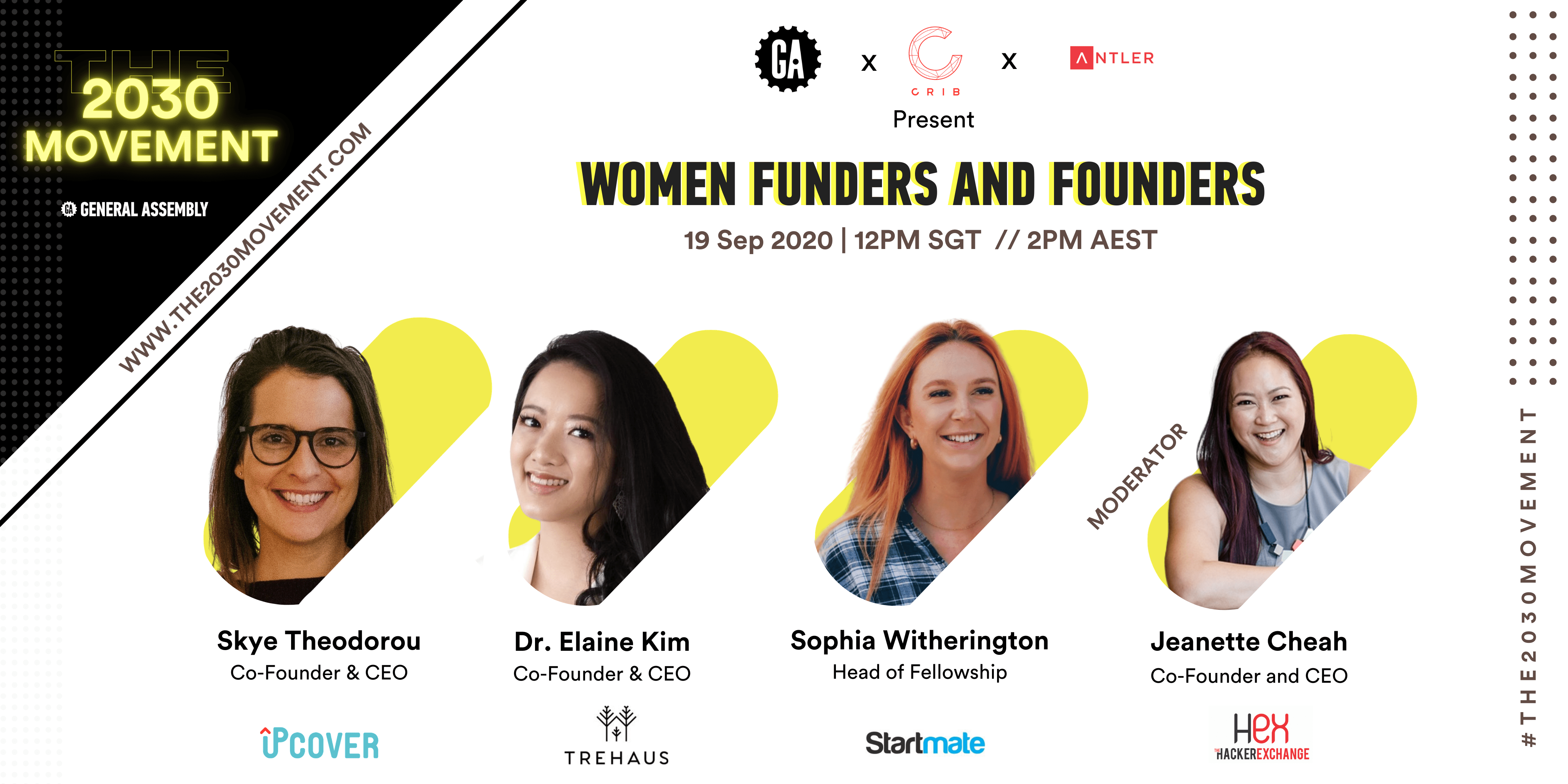 2030 Movement: Women Funders and Founders