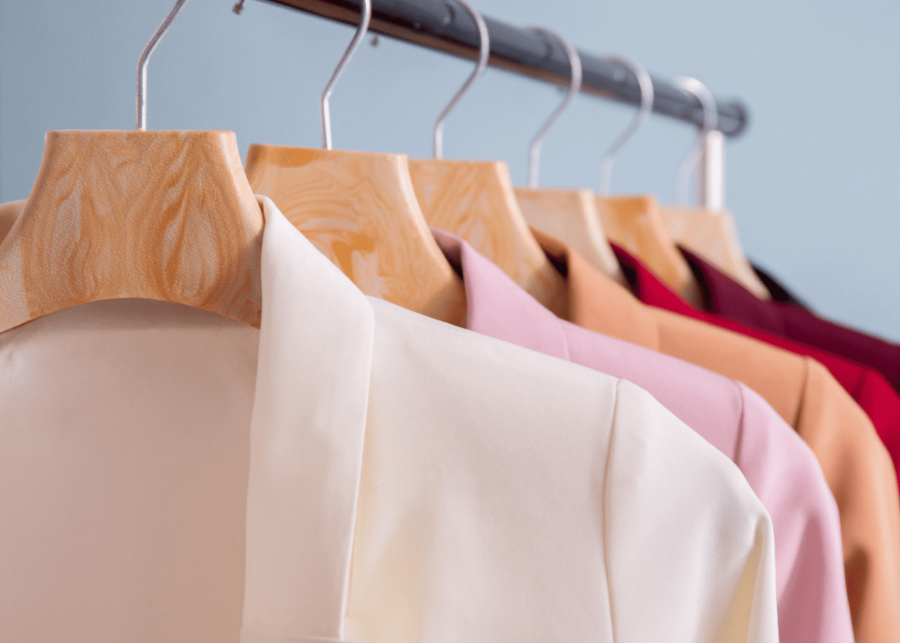 clothes rack | disinfect items