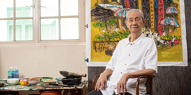 A Century of Memories by Lim Tze Peng: Virtual Solo Exhibition