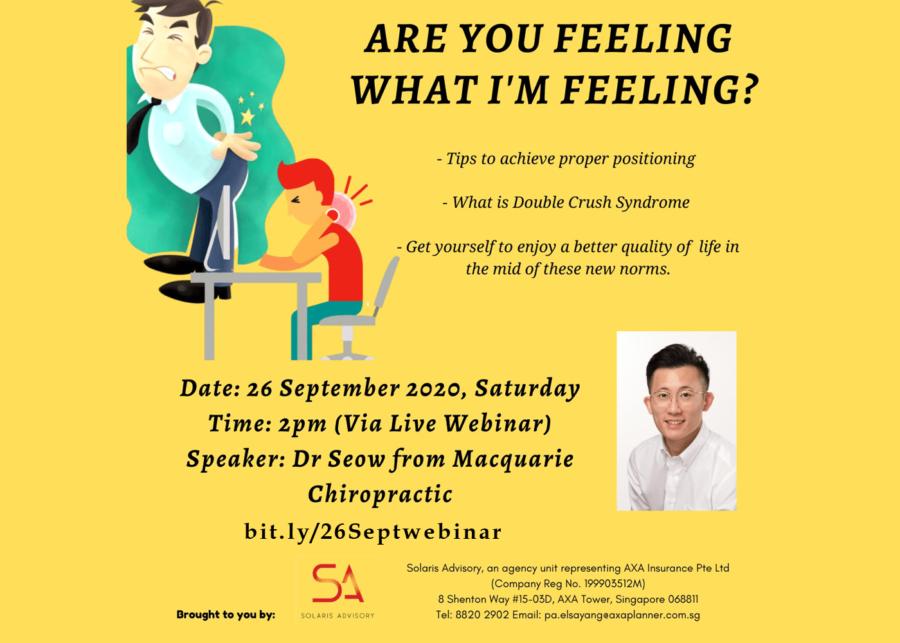 Free Live Chiropractic Webinar