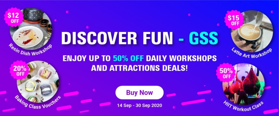 Discover Fun Great Singapore Sale