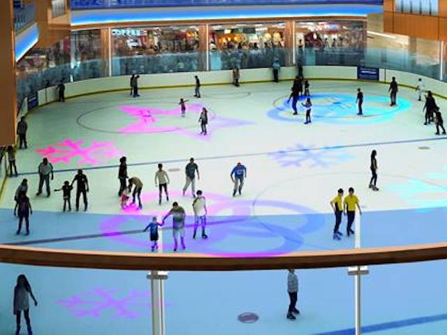 BX largest ice rink in Jakarta