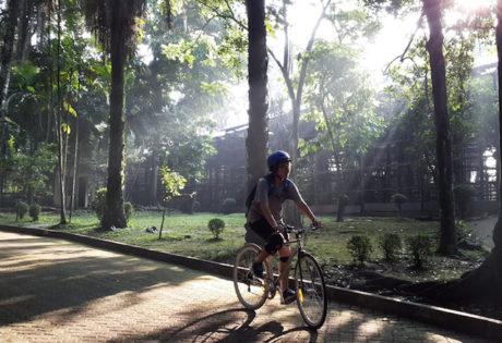 cycling jakarta indonesia