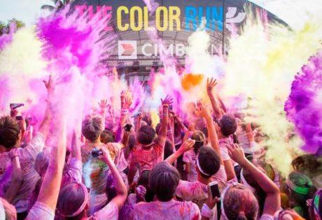 jakarta running event 2014 color