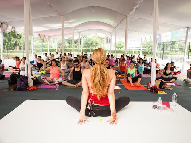 Going Gaga for Yoga: Namaste Festival 2014