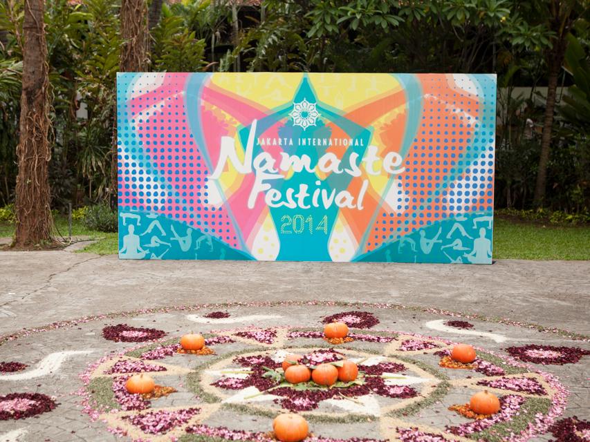 namaste festival hotel sultan jakarta
