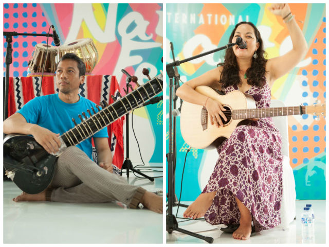 music performances namaste festival