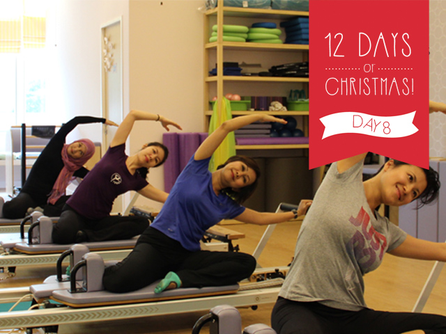 12 Days of Christmas Giveaways: 10 Private Sessions At Benefit Pilates