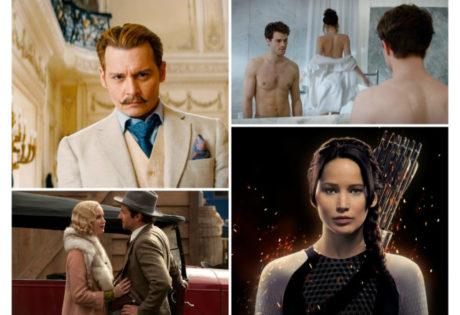 book movie adaptations 2015