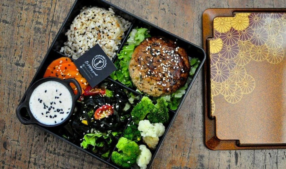 forking clean healthy catering jakarta